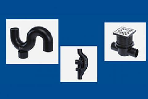 S型存水口(带检查口)丨苏维托丨双通道地漏丨同层排水系统丨高密度聚乙烯HDPE