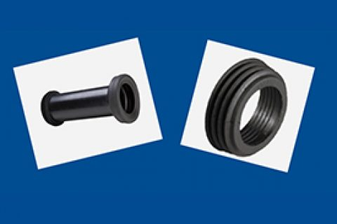 橡胶圈丨挂壁式侧具安装配件丨同层排水系统丨高密度聚乙烯HDPE