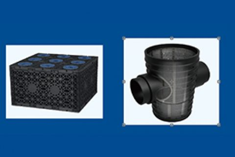 渗透井丨渗透池丨雨水收集系统丨海绵城市