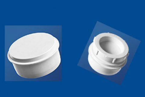 管帽丨管道清扫口丨聚丙烯静音管丨PP承插式连接静音管道系统