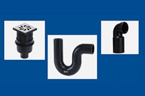 直排地漏丨P型存水弯丨挂壁式坐便器排水连接管弯头