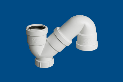hdpe螺旋压盖丨s型存水弯丨静音排水管