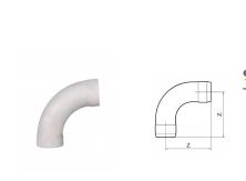 hdpe丨90°大弧度弯丨hdpe热熔承插静音管