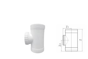hdpe立管检查口丨热熔承插静音排水管