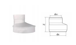 hdpe异径接头丨热熔承插静音排水管