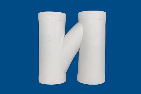 H形通气管丨hdpe热熔承插静音排水管