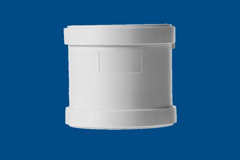 HDPE直通丨压盖柔性承插静音管