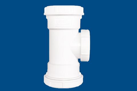 立管检查口丨伸缩节丨HDPE螺旋压盖式连接静音管