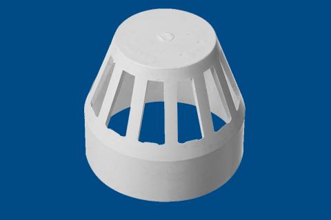 透气帽丨丨HDPE压盖柔性承插静音排水管管件