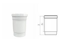HDPE伸缩节丨hdpe热熔承插静音排水管